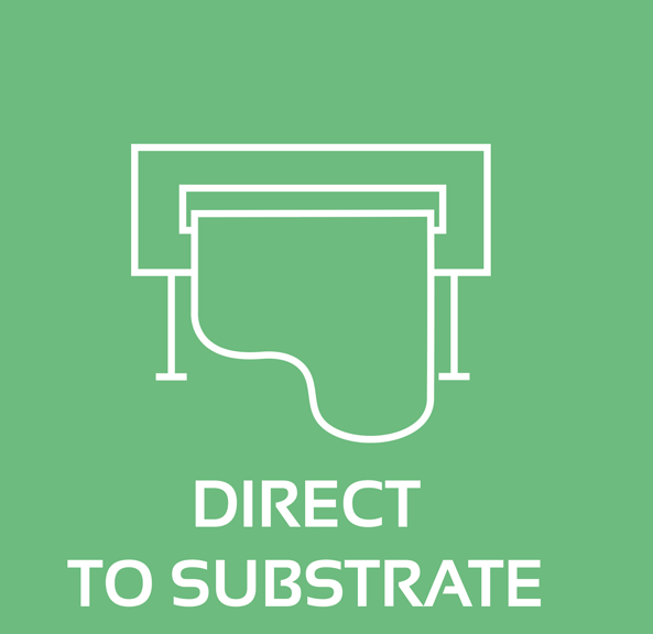 Direct-to-substrate